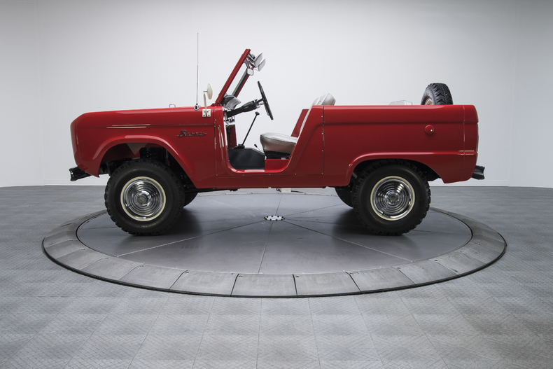 Ford bronco replica builder for sale 1966 67 68 69 for Bronco motors used cars
