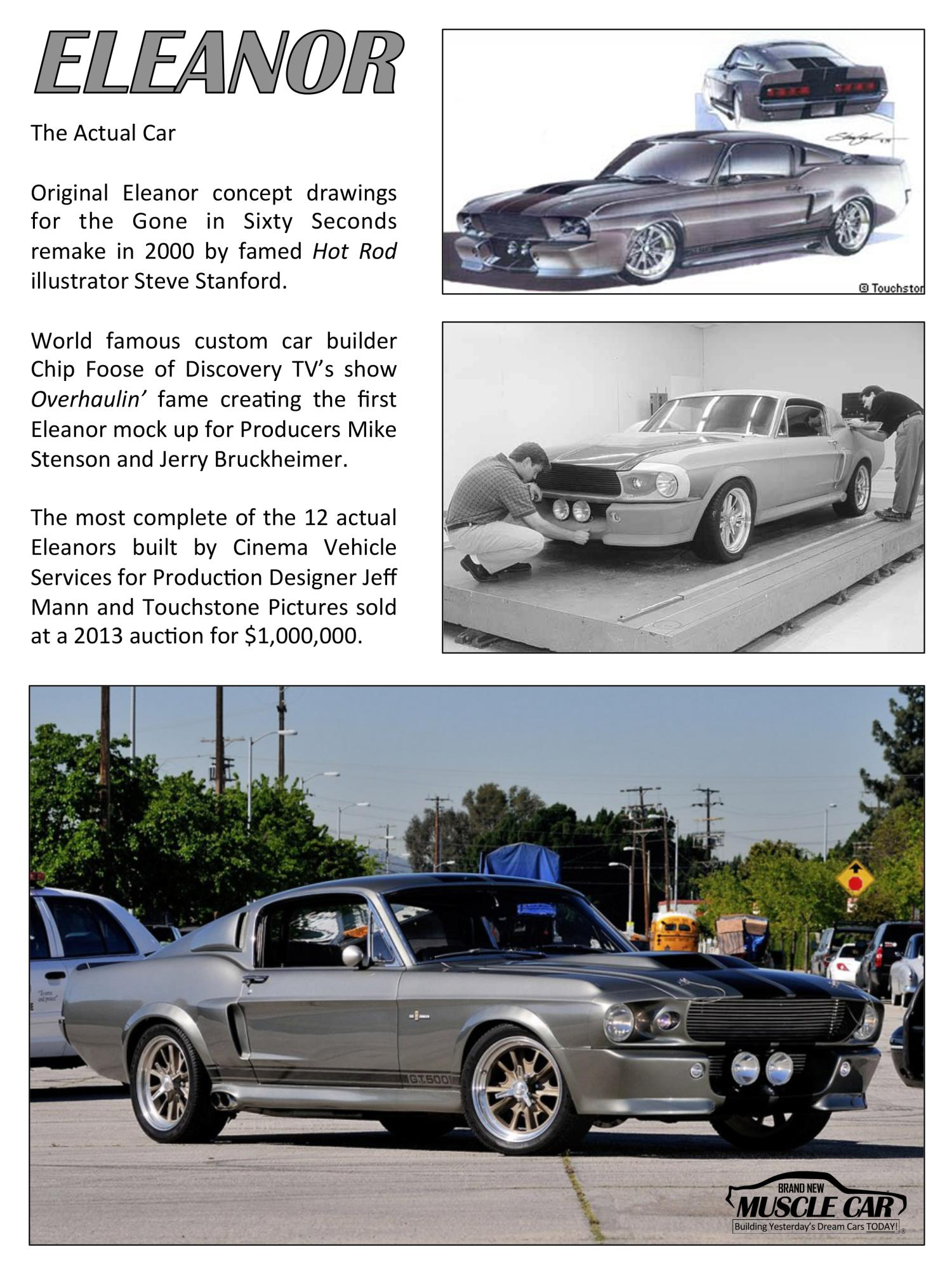 Eleanor brochure page 3 eleanor mustang replica builder for sale 1967 ford eleanor mustang fastback gt500e