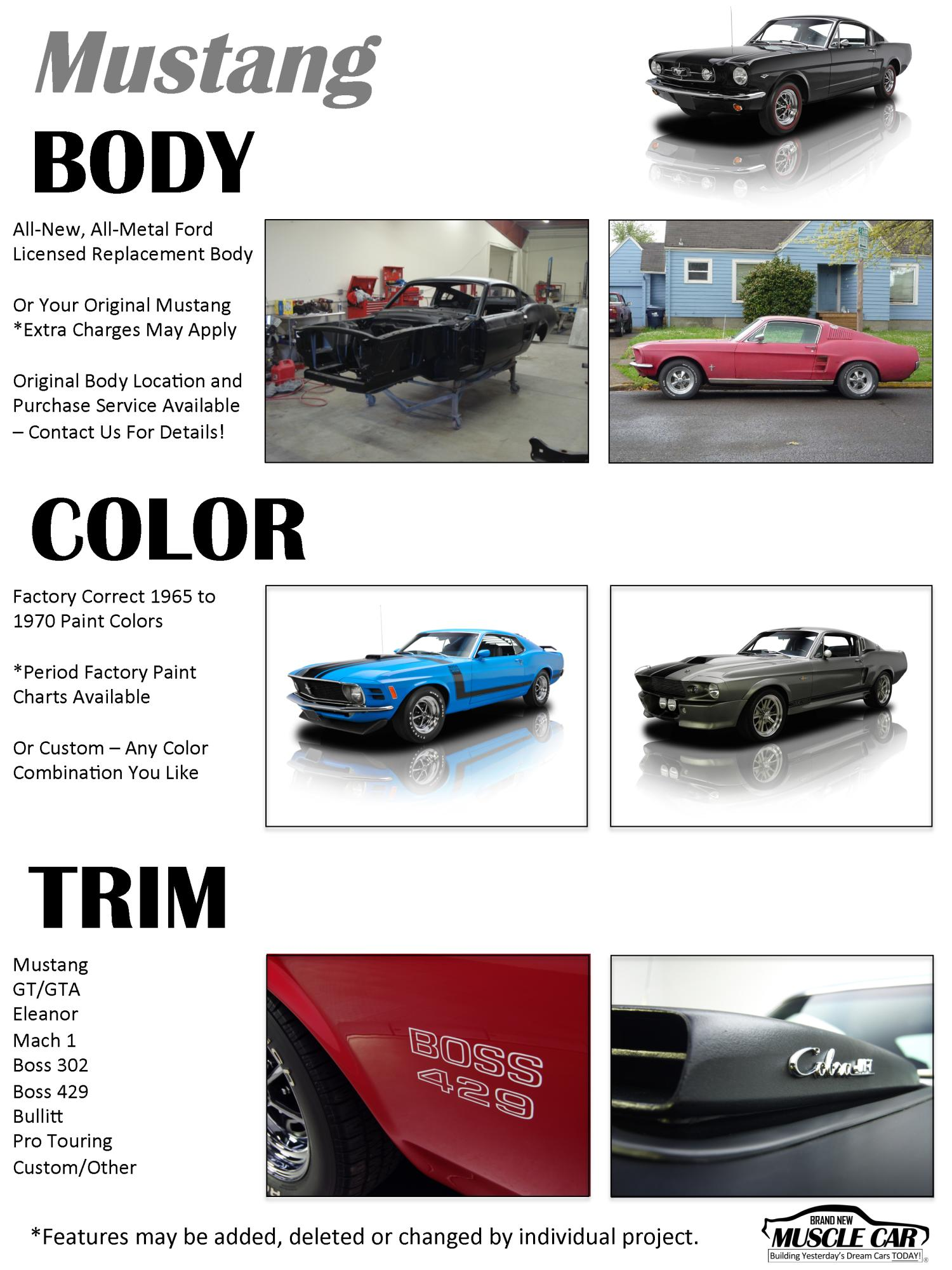 Ford mustang brochure page 1 eleanor mustang replica builder for sale nvjuhfo Choice Image